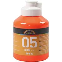 A-Color neon oranžna, 500 ml