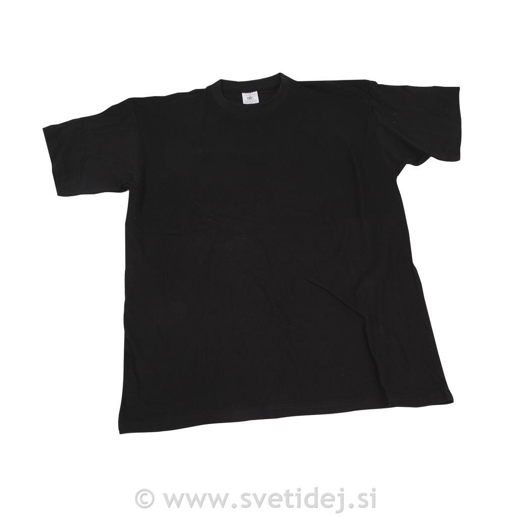 T-shirt, 5-6 let, črn
